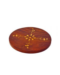Grehom Wooden Coasters (Set of 4) - Creepers (Large)