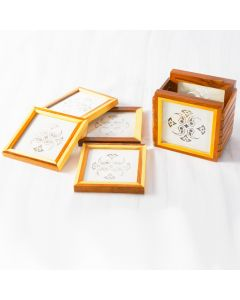 Grehom Coasters Square (Set of 4) - Mandala