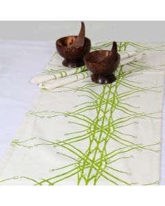 Grehom Table Runner - Green Grass