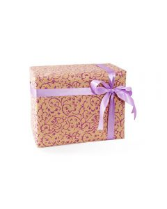 Grehom Gift Wrapping Paper (Set of 4) - Creepers Violet