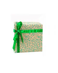 Grehom Gift Wrapping Paper (Set of 4) - Creepers Green