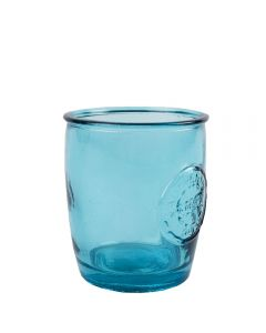 Grehom Recycled Glass Tumbler Authentic Set of 2- Blue