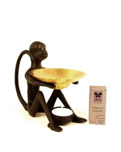 Grehom Oil Burner - Monkey (Sea Breeze)