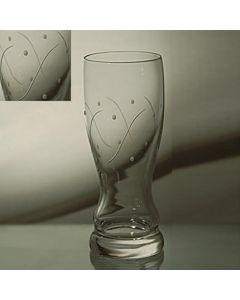 Grehom Crystal Pilsner Glass - Waves