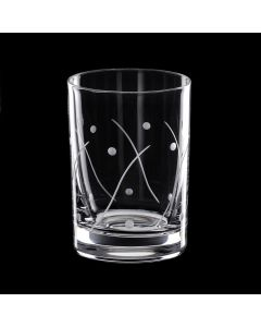 Grehom Crystal Shot Glass - Waves