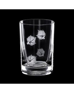 Grehom Crystal Shot Glass - Maple Leaf