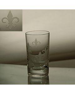 Grehom Crystal Shot Glass - Fleur de Lys