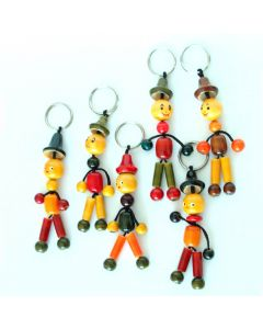 Grehom Wooden Key Ring - Officers