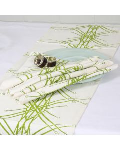 Grehom Napkins Large (Set of 2) - Green Grass