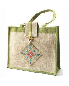 Grehom Handbag - Matrix Green