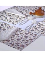 Grehom Placemats (Set of 2) - Carnations; Cotton Tablemats