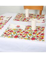 Grehom Placemats (Set of 2) - Blossom; Cotton Tablemats