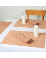 Grehom Placemats (Set of 2) - Mehendi Creepers; Cotton Tablemats