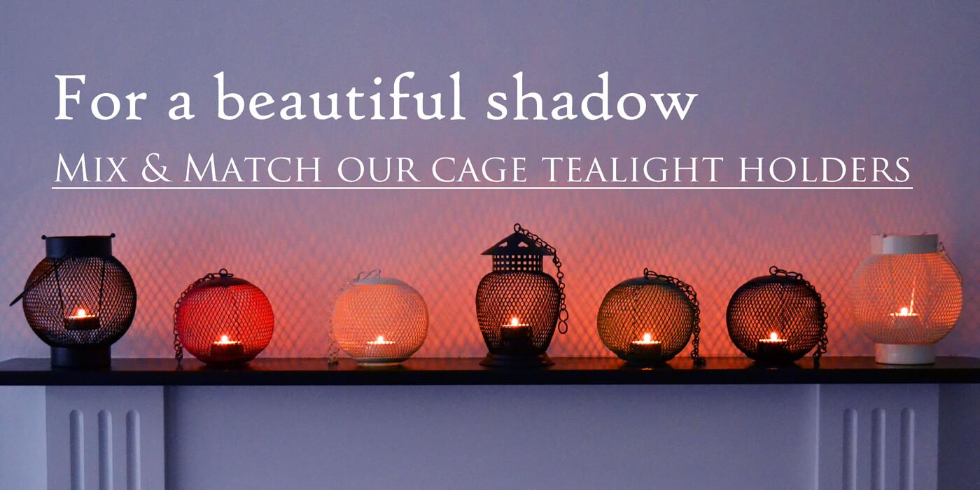 Cage Tea Light Holders